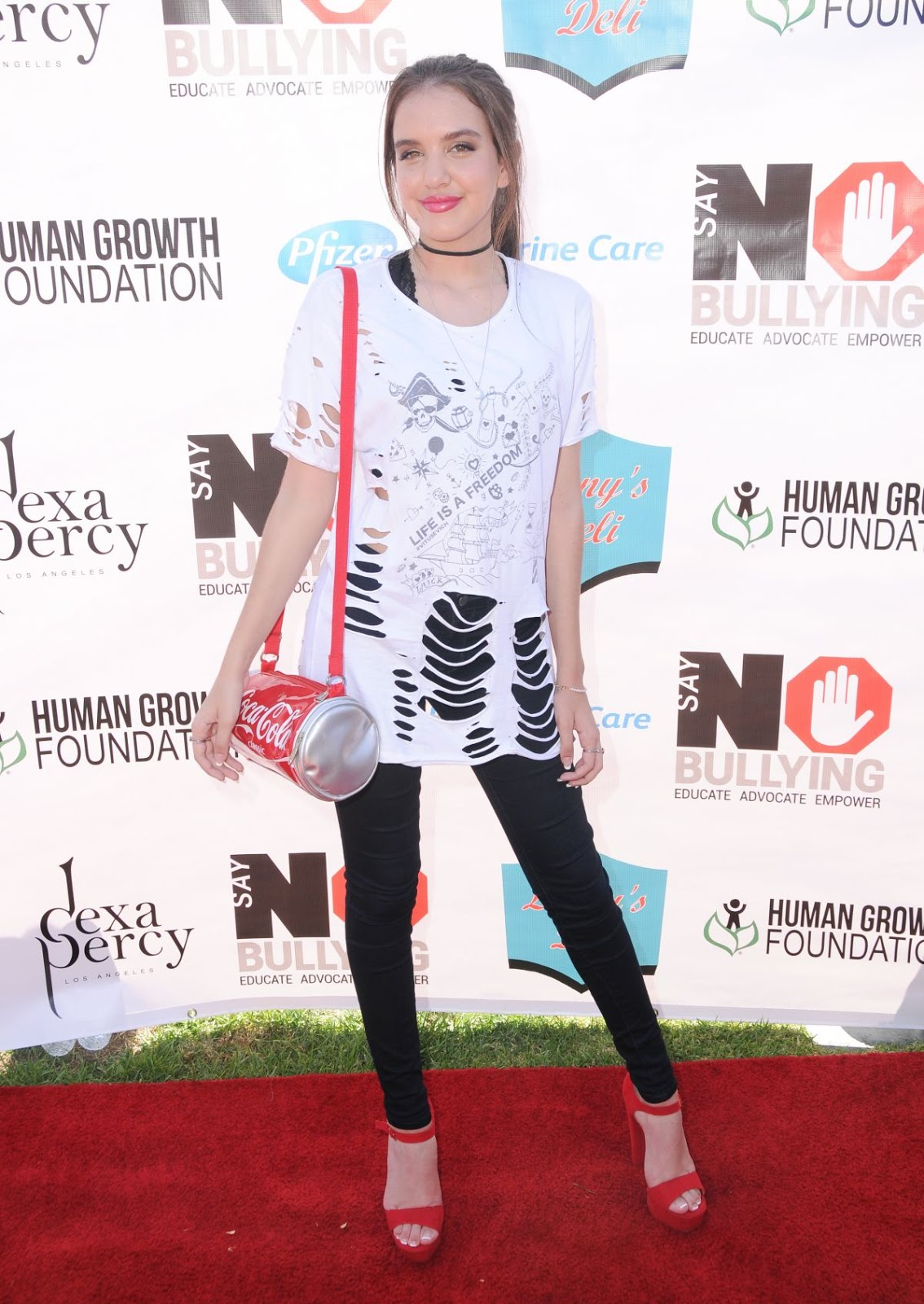 Lilimar Hernandez at Say No Bullying Festival at Griffith Park in Los Angeles