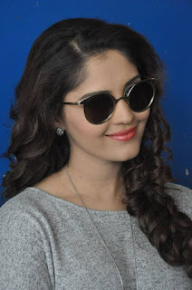 Surabhi looks beautiful as ever at Attack Movie Audio Launch in a Grey T Shirt and Black Trousers