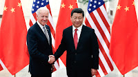 Biden and Jinping meet in 2013. (Credit: Lintao Zhang / Getty Images) Click to Enlarge.
