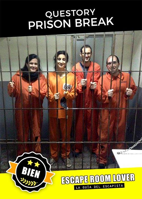 Questory - Prison Break - Escape Room - Opiniones