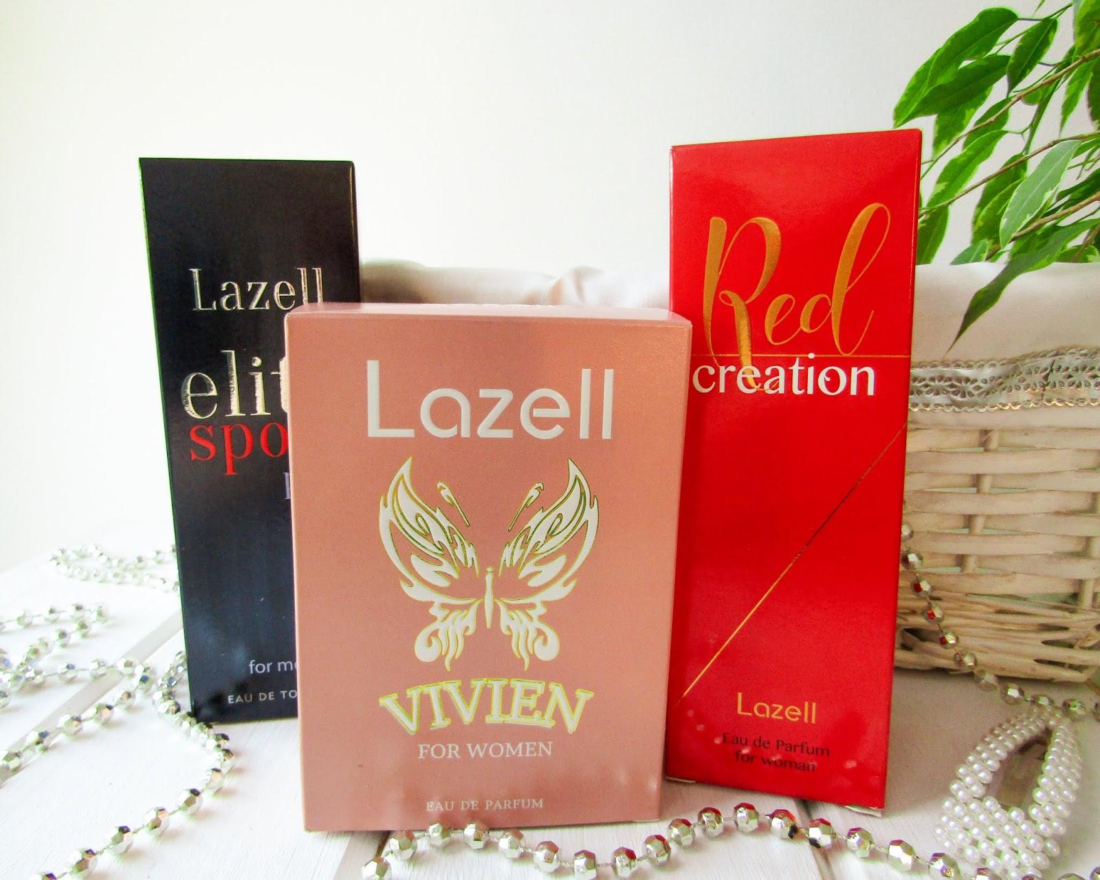 Perfumy od Lazell