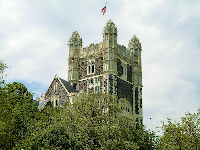 City College of New York Shepard Hall tower Clip Art
