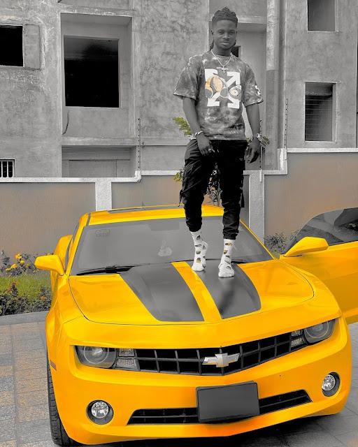 Kuami Eugene Splashes Over ₦9.5 Million On Brand New Chevrolet (Photos)