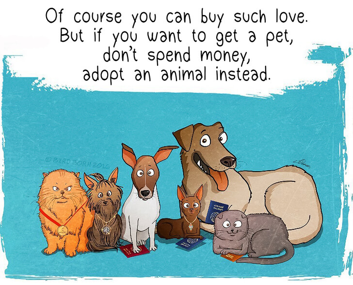 13 Heart-Warming Comics Show Why It Is Important To Rescue A Shelter Dog