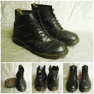sepatu, vintage, docmark