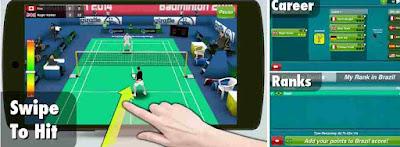 Game bulu tangkis Badminton 3D