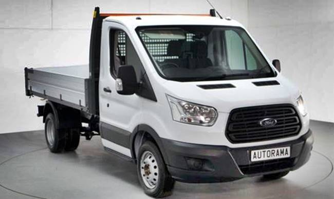 2017 Ford Transit Tipper Review