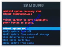 Android System Recovery - Samsung Galaxy V SM - G313HZ