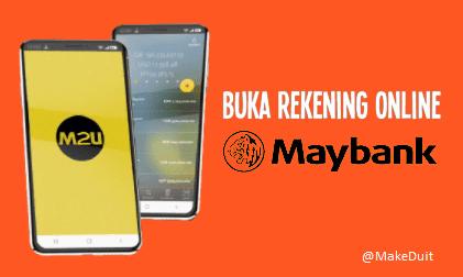 Buka Rekening Maybank Online Lewat Smartphone