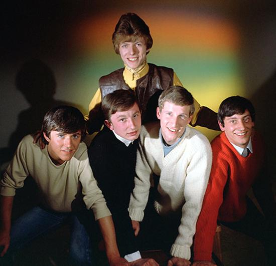 Davie Jones with The King Bees 1964