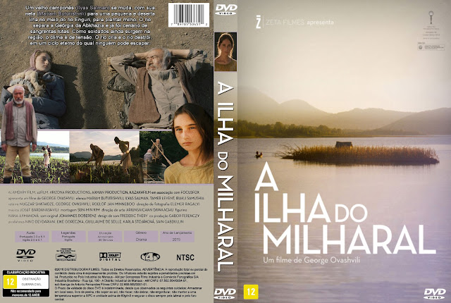 Capa DVD A Ilha Do Milharal