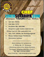 Open Recruitment at Kioku Cafe Surabaya September 2020