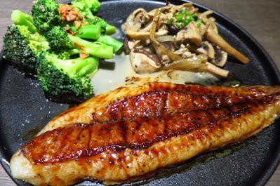 Bizen Okayama Wagyu Steakhouse, fish