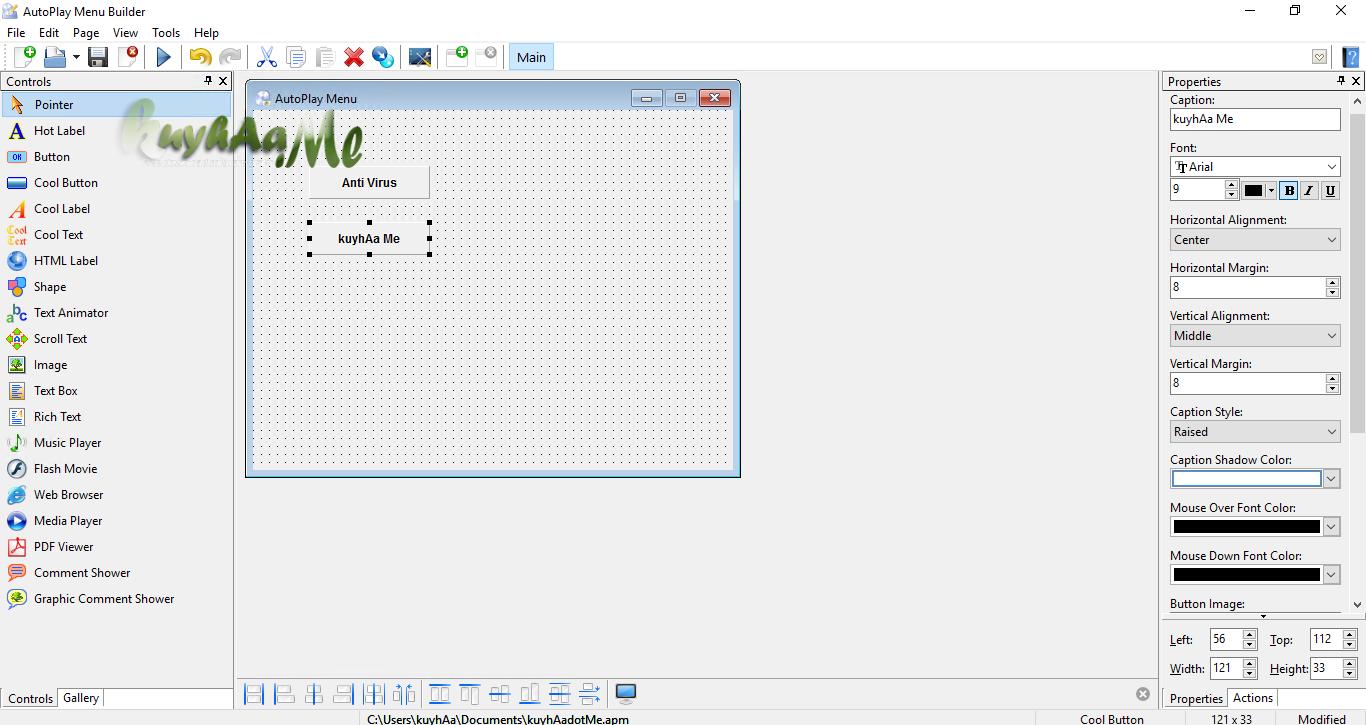 AutoPlay Menu Builder Business