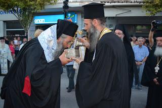 Ο Σεβασμιώτατος Μητροπολίτης Γεώργιος για το ιερό λείψανο του Αγίου Διονυσίου εν Ολύμπω. (ΒΙΝΤΕΟ)