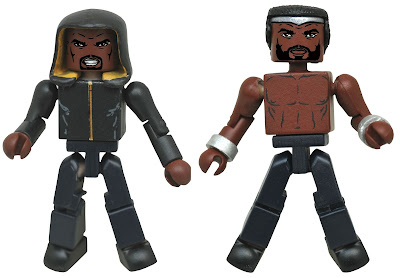 Marvel's Luke Cage TV Series Minimates Box Set by Diamond Select Toys