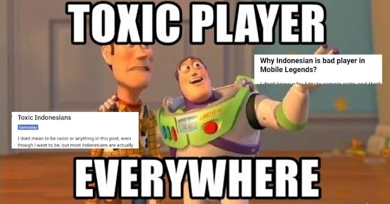 Terlalu Toxic, Pemain Mobile Legends Indonesia Sangat dibenci Pemain Negara Luar