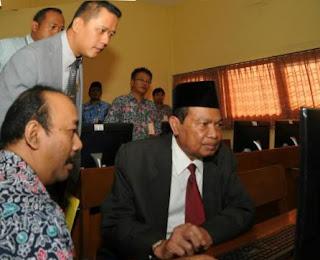 2.967 Siswa SMP/MTs Kota Mojokerto Ikuti UNBK