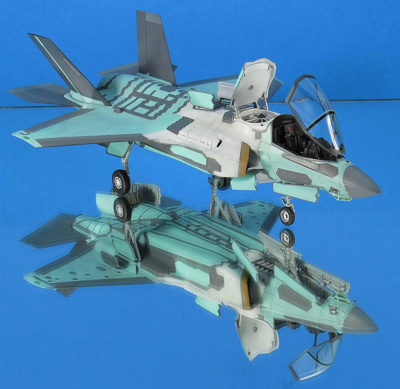 Italeri+F-35B+Lightning+II+build+%252856
