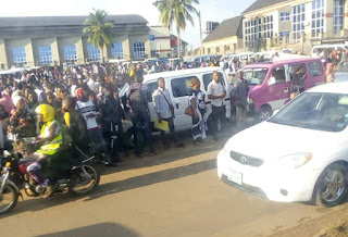 Shuttle Drivers Embark On Strike As Students Stranded At School Gate Over Increment In Transport Fare