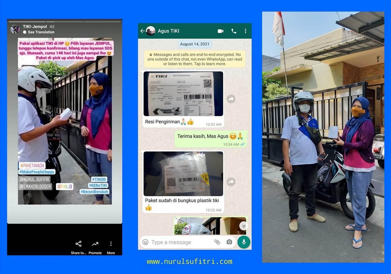Bersama TIKI Belanja Online Lebih Aman dan Nyaman Nurul Sufitri Travel Lifestyle Blog