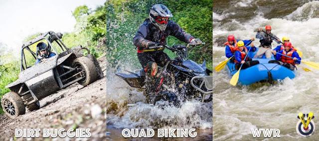 Rage Buggies, Quad Biking & White water rafting