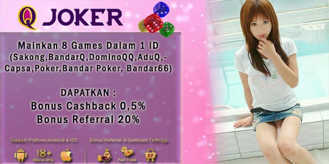 Image of Jackpot Judi Sakong Online QJoker