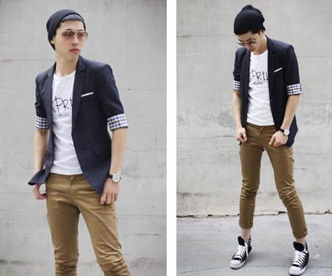 contoh model baju jas pria