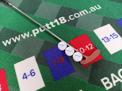 Putt18 golf game putting mat