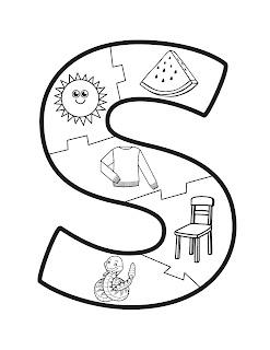 abecedario con dibujos animados