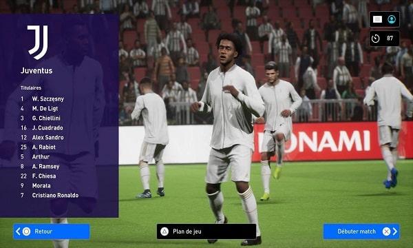 eFootball PES 2022 Pre Alpha Game