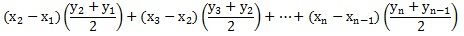 SUMPRODUCT Function - Trapezoidal Rule