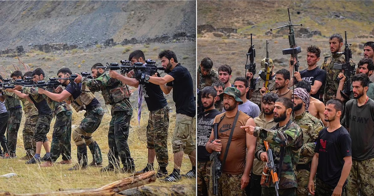 Anti-Taliban Fighters Are Training In Order To Take Back Afghanistan From The Taliban