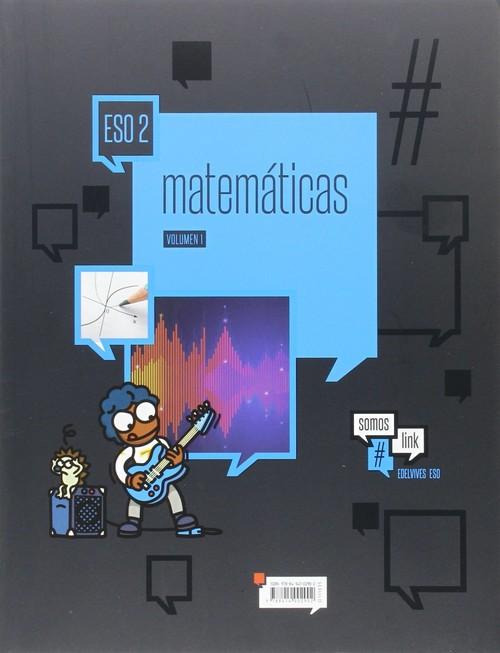Libro Matemáticas 2º ESO Edelvives Proyecto #somoslink