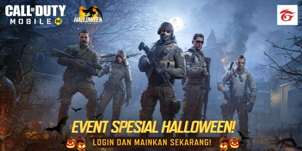 cod mobile halloween event