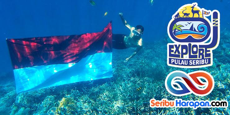 explore pulau seribu - wisata pulau Harapan