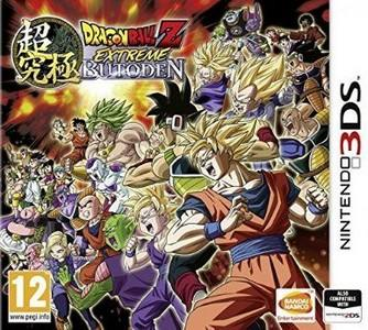 Rom Dragon Ball Z Extreme Butoden 3DS