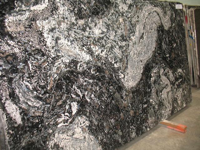 Kosmus Blue Granite slabs for countertop
