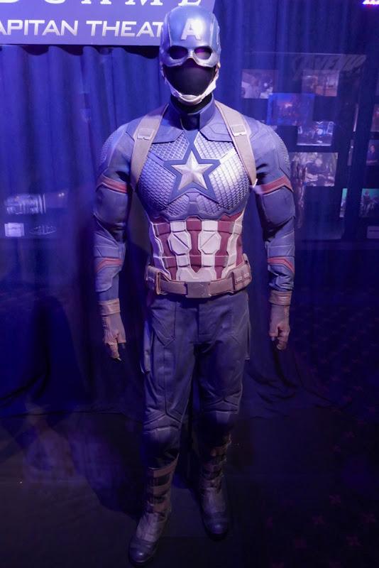 Chris Evans Captain America costume Avengers Endgame