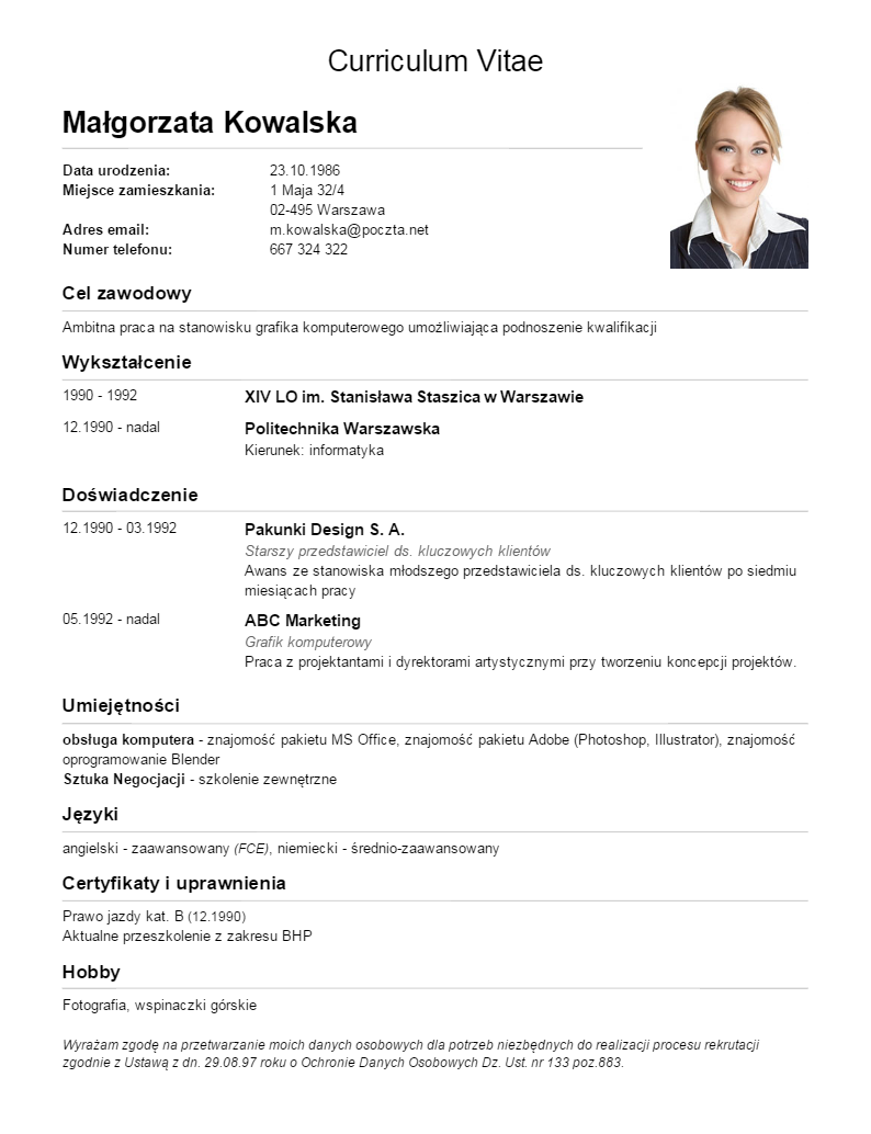 How To Write Curriculum Vitae Cv Khmer Agriculture