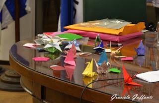 Taller de origami. Ito Akemi. Embajada de Japón