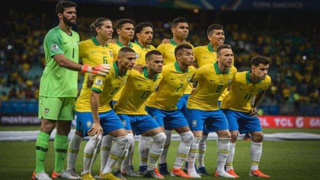 Horário do jogo do Brasil Final Domingo 07/07/2019