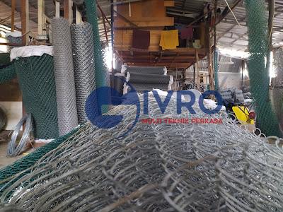 Distributor Kawat Harmonika PVC Galvanis