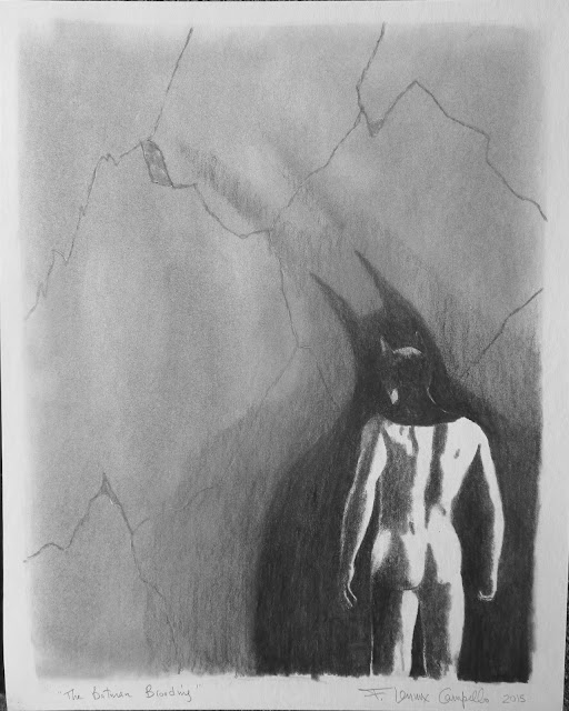 The Batman Brooding by F. Lennox Campello