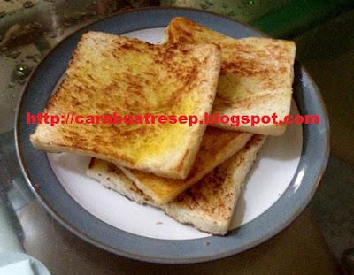 Foto Resep Roti Bakar Sederhana Lembut dan Empuk untuk Sarapan Pagi Paling Praktis Asli Enak