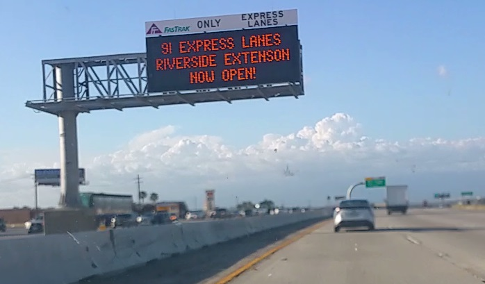 Express Lane California >> The 91 Express Lanes Can Really Get Southern California Moving
