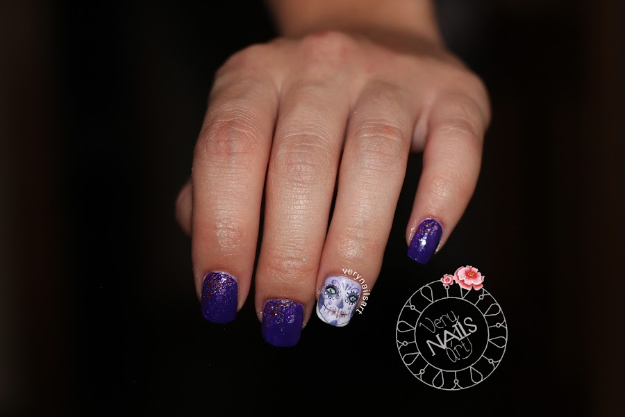 manicura-halloween-catrina
