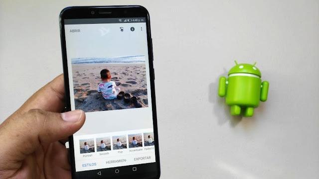 La magia de los editores de fotos para Android