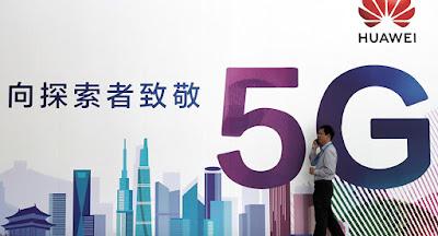 Huawei Pimpin Pasar 5G di Bawah Tekanan AS