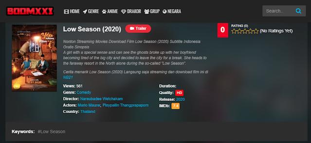 Nonton Film Low Season (2020) Sub Indo Full Movie   Link 2021